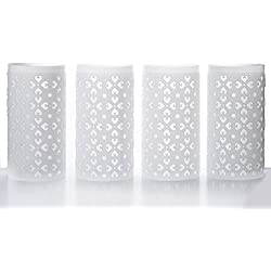 Efavormart 4PCS Venetian Roman PVC Wedding Columns EXTENSION Parts