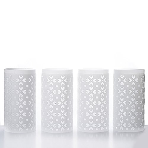 Efavormart 4PCS Venetian Roman PVC Wedding Columns Extension Parts]()