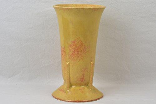 Roseville Pottery 1933 High Gloss Gold Tourmaline Vase #429-9