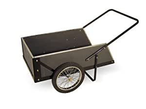 Precision Products 7-Cubic Foot Capacity Wooden Cart WC07