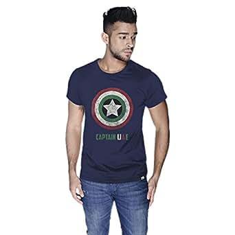 Creo Captain Uae T-Shirt For Men - S, Navy