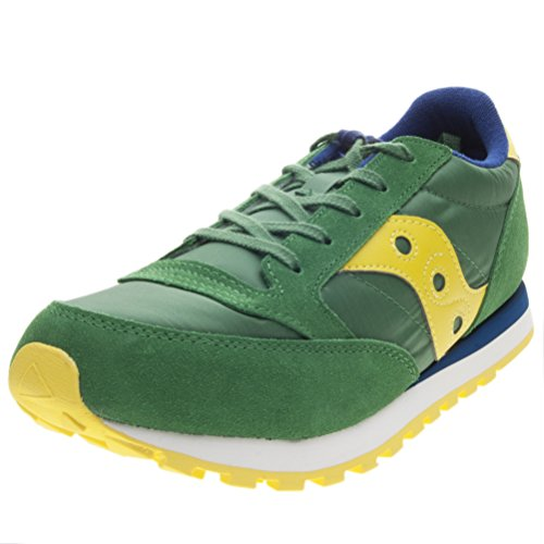 Chaussures SY58803 Fille Argent Saucony Filles Lacets VERDONE Jazz GIALLO Gris xgRwCZZqY