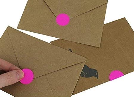 /1000//Spenderbox 2,5/cm farblich gekennzeichnet Dot auf Oberfl/äche   Etiketten permanent klebend/ Schreiben