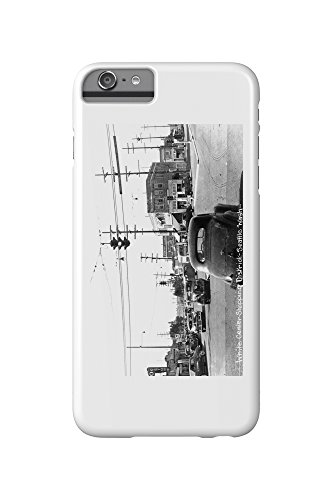 Seattle, Washington - View of White Center Shopping District (iPhone 6 Plus Cell Phone Case, Slim Barely - Centre Seattle Shopping