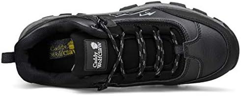 トレーナーアンチアウトドア登山トレッキング用の軽量のシューズスニーカースリップ快適な靴をハイキング防水ウォーキングシューズメンズ (Color : Gray, Size : 6.0UK)