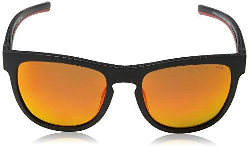 Black Negro Matt para Sol 53 Gafas Hombre Fila de Semi ZX8qxf