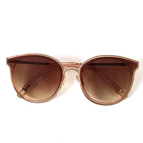 marco de de vacaciones gafas Gafas estilo coreano retro de de sol de redondo rostro NIFG sol Gafas redondo qgIAU