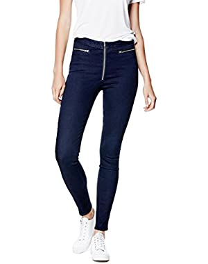 GUESS High-Rise Push-Up Denim Jeggings
