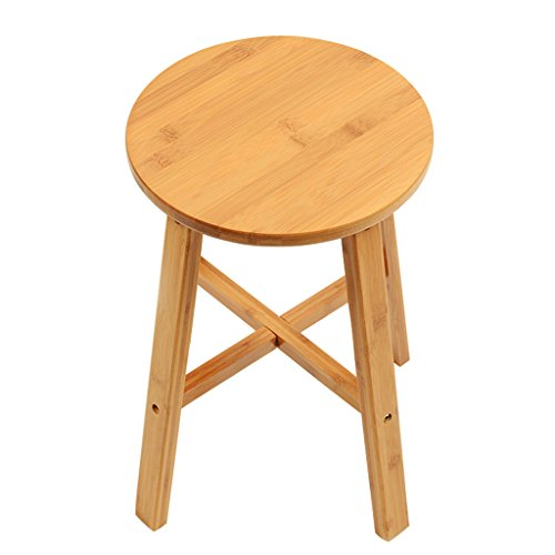 Mini Round Stool - COZY HONE AAA Round stools, mini bar stools kitchen office party brunch chair (27 27 42 cm)