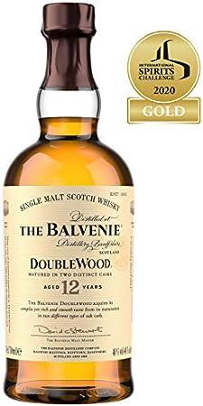 The Balvenie Double Wood 12 años whisky de malta escocés, 700ml