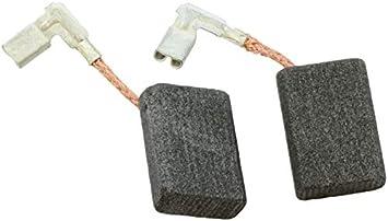Balais de charbon pour s/'adapter Makita GA5010 GA5020 GA5021 GA6010 GV7000 JR3030 Paire