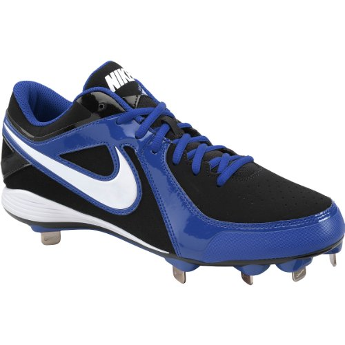 Nike Herren MVP Strike Low Metal Baseballschuh Royal / Schwarz