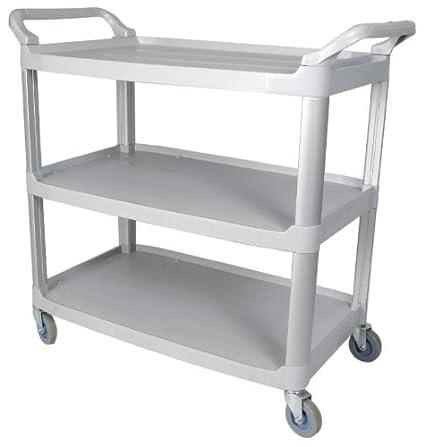 3 tier utility cart supply winco usa 3tier utility cart gray amazoncom gray home kitchen