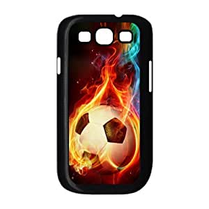 LZHCASE Diy Back Case Football For Samsung Galaxy S3 i9300 [Pattern-1]