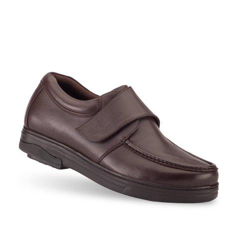 Gravitation Defyer Mens Londonians Munk Stil Loafers Brun
