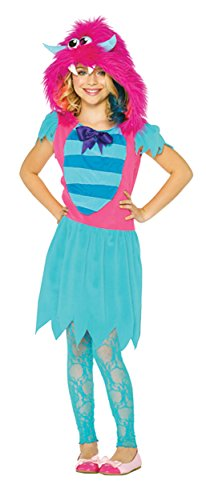 Growling Gabby Costumes (UHC Girl's Growling Gabby Monster Outfit Child Fancy Dress Halloween Costume, Child S (4-6))