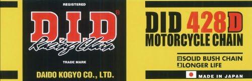 DID Kette 428 D 102 Glieder offen mit Clipschloss Standard