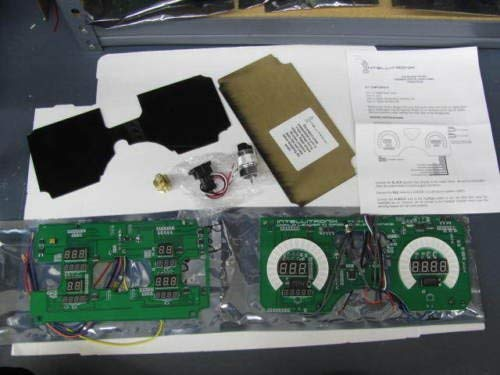 Intellitronix Firebird Digital Replacement Gauge Panel White W/ All Necessary Sending Units