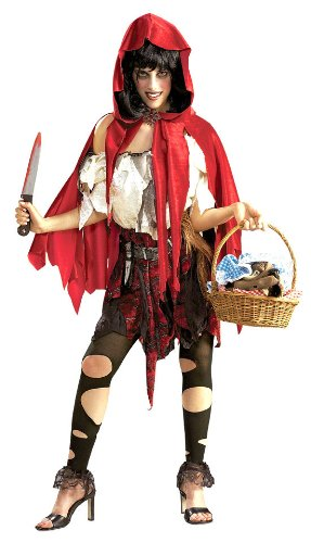 Little Dead Riding Hood Costume - Standard - Dress Size 10-12 (Little Red Riding Hood Dress Up Ideas)