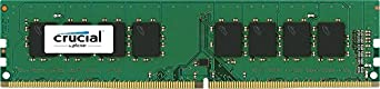 Crucial 4GB Single DDR4 2400 MT/s (PC4-192000) DIMM 288-Pin Memory - CT4G4DFS824A