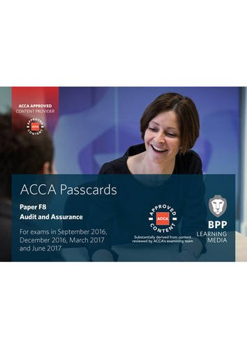 Download ACCA F8 Audit and Assurance: Passcards pdf
