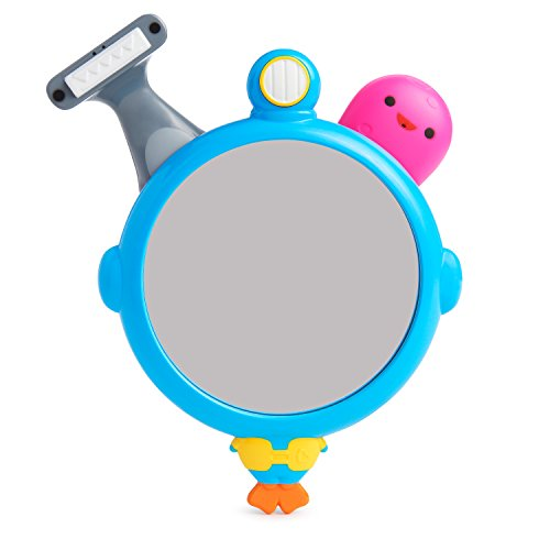 Munchkin See, Shave and Squirt Mirror Set Bath Toy