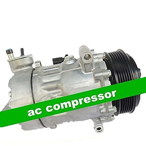 GOWE AC Compresor para 7 V16 AC Compresor para coche Volkswagen Lavida coche compresor de aire para VW 2012 2013 2014 aire acondicionado repuestos: ...