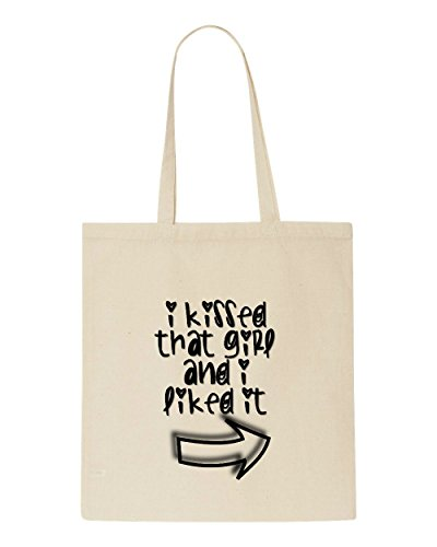 Beige Pointing Tote That And Arrow Girl It I Bag Liked Kissed Shopper Right cZq4R0Ww7W