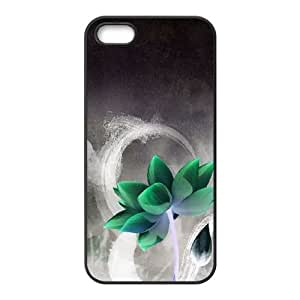 Flower iPhone 4 4s Cell Phone Case Black Vexrt