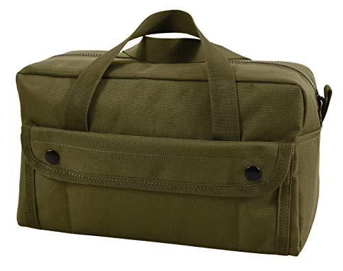 """Rothco 9191 11/""""x7/""""X6/"""" Black Mechanics Tool Bag Military Brand New"""