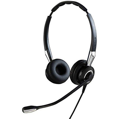 Jabra 2400 II QD Duo UNC Wired Headset - Black