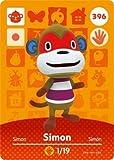 Simon- Nintendo Animal Crossing Happy Home Designer Series 4 Amiibo Card -396
