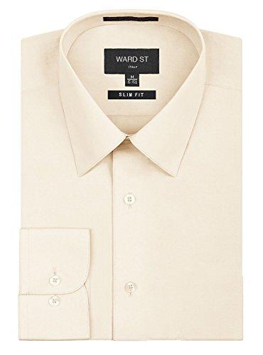 off white dress shirt - 8