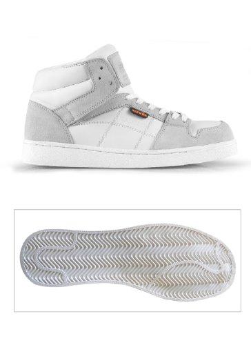 Protección Blanco Para Calzado Scruffs Hombre De Piel PnvaU