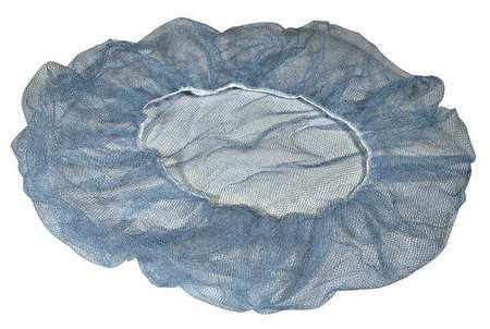Hairnet  Plystr Hnycmb  24 In  Blue  Pk1000