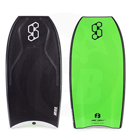 Mike Stewart Science Tanner ISS Signature Bodyboard 42 Black/Black/Fluro Green