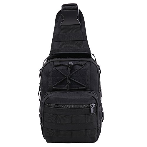 Utility Outdoor Body Bag (Black) - 6