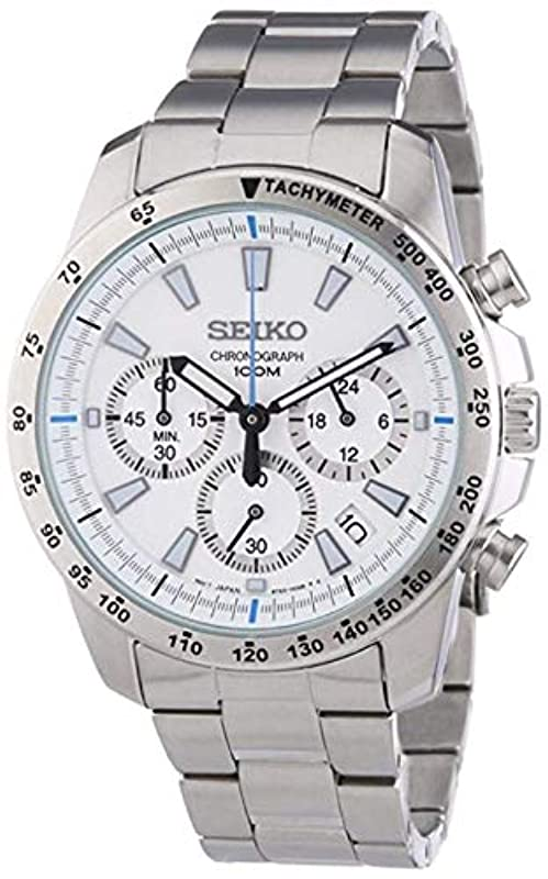 세이코 손목시계 크로노 그래프 SSB025P1