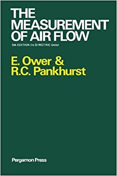 Book The Measurement of Air Flow by E. Ower (1977-01-01)