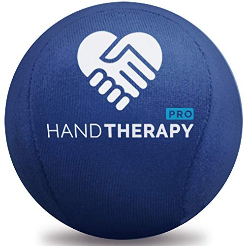 Stress Ball Hand Therapy Gel Squeeze Ball for Hand Stress and Therapeutic Relief, Grip Strength, Hand Mobility and Restoration Navy 5.5cm ()