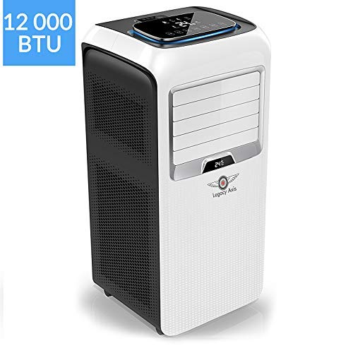Legacy Axis PAC OL-KYR12-A5 AC Silent Portable Air Conditioner Unit with Cooling,...