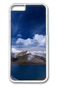 Beautiful Lake Custom iphone 6 plus Case Cover Polycarbonate Transparent