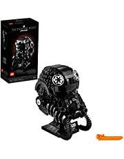 LEGO Star Wars TIE Fighter Pilot Helmet 75274 Building Kit, Cool, Collectible Star Wars Character Building Set