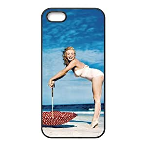 zZzZzZ Marilyn Monroe Shell Phone for Iphone 5 5g 5s Cell Phone Case