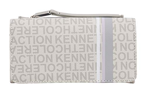 Kenneth Cole Reaction Women's Bold Print Organizer Clutch Wallet w/Removable Coin Purse (Seagull Print) (Cole Kenneth Organizer)