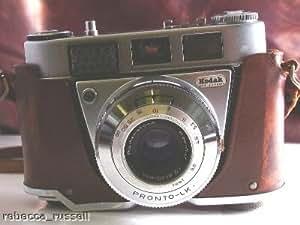 c1960Kodak retinette IB enfundado cámara 45mm F2.8pronto-lk