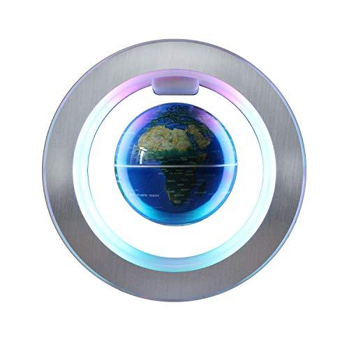 Magnetic Levitation Floating Globe - 4 inches Levitating O Shape Globe for Children Educational Gift Home Office Desk ()
