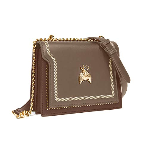 Small Crossbody Bag for Women, Shoulder Bag with Metal Chain