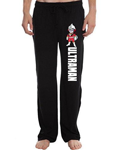 - RBST Men's ultraman char Running Workout Sweatpants Pants XL Black