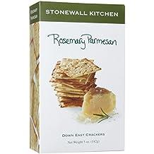 Stonewall Kitchen Rosemary Parmesan Crackers, 5 Ounce Box